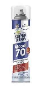 Alcool Spray Aerosol 70% Super Don 300ml/170gr