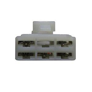 Conector Regulador Retificador Fazer 600 Fz6 08-09
