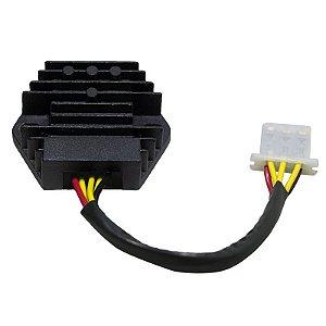 Regulador Retificador de Voltagem Ninja 500 93-09 Chiaratto
