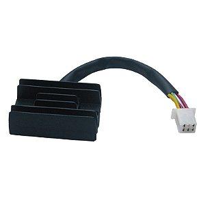 Regulador Retificador de Voltagem XY 125 New Wave Chiaratto