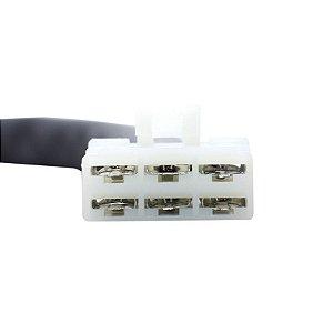 Conector Regulador Retificador de Voltagem Vulcan 750 93-98 Chiaratto