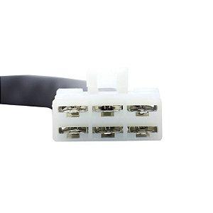 Conector Regulador Retificador de Voltagem Vulcan 800 95-06 Chiaratto