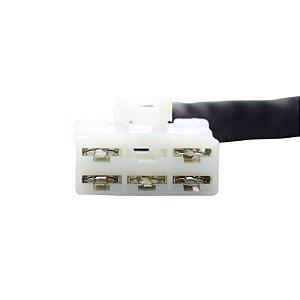 Conector Regulador Retificador de Voltagem Freewind XF 650 97-03 Chiaratto