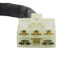 Conector Regulador Retificador de Voltagem CBR 1100 XX Super Blackbird 97-98 Chiaratto