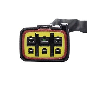 Conector Regulador Retificador de Voltagem KingQuad 700 06-07 Chiaratto