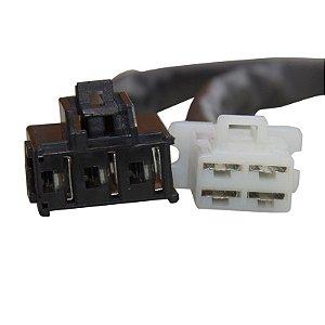 Conector Regulador Retificador de Voltagem CBR 600 RR 03-06 Chiaratto