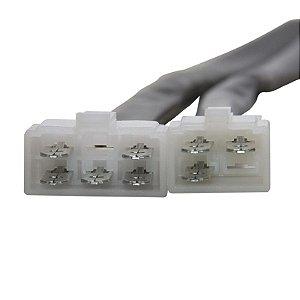 Conector Regulador Retificador de Voltagem CBX 750 Four 86-94 Chiaratto