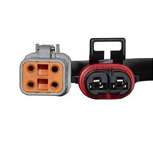 Conector Regulador Retificador de Voltagem Firebolt XB12 R 03-07 Chiaratto