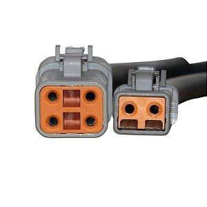 Conector Regulador Retificador de Voltagem Softail Custom 2007 Chiaratto