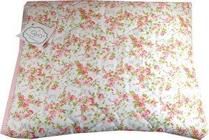 Cobertor Almofada - Tema Floral Rosa