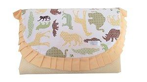 Trocador para Bebê Portátil Estampado - Tema Safari