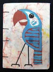 Caderneta Arara-Azul - Batik