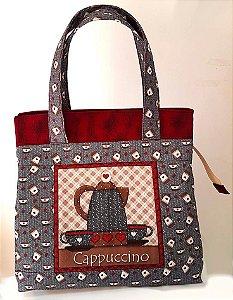 Bolsa Lanche Bag (não térmica) - Patchwork