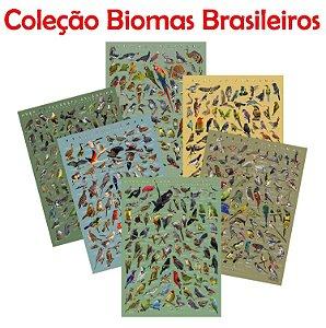 PÔSTER COLEÇÃO BIOMAS BRASILEIROS - PROMOÇÃO DUAS UNIDADES