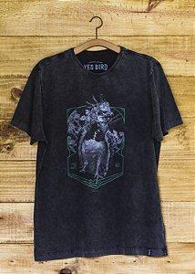T-Shirt Masculina Harpia - Grafite Estonado