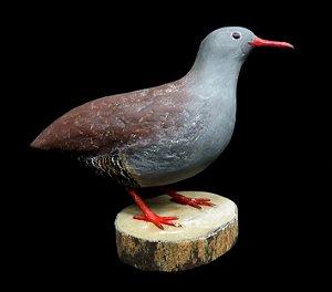 Miniatura madeira Inhambu-Chororó
