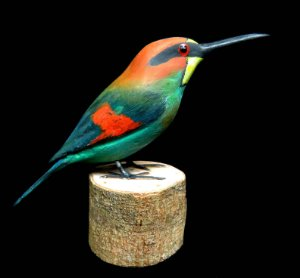 Miniatura madeira Abelharuco