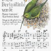 Reprodução Fine Art - Periquito-verde