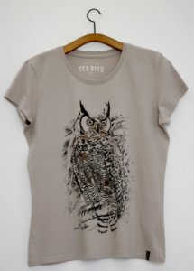 Camiseta Jacurutu - Yes Bird