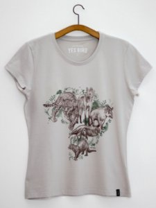 Camiseta Big Five Brasil - Yes Bird