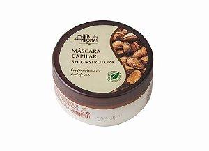Máscara Reconstrutora Capilar Natural e Vegana Castanha 196g Arte dos Aromas