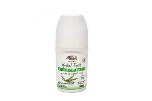 Desodorante Roll On Natural e Vegano Alecrim e Capim Limão 50ml Arte dos Aromas