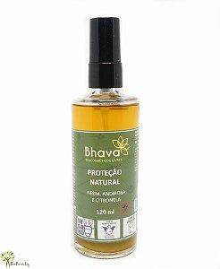 Repelente Natural e Vegano com Óleos Vegetais e Essenciais 120ml Bhava