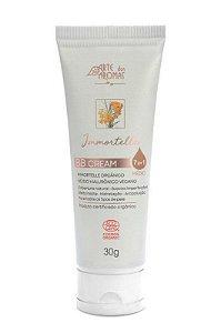BB Cream Médio Orgânico com Ácido Hialurônico Immortelle 30g Arte dos Aromas