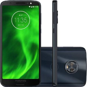 "Smartphone Motorola Moto G6 Plus Dual Chip Android Oreo - 8.0 Tela 5.9"" Octa-Core 2.2 GHz 64GB 4G Câmera 12 + 5MP (Dual Traseira)"