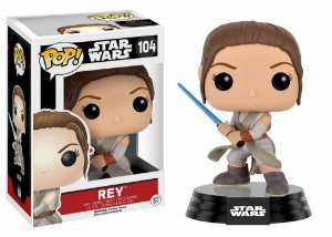 Funko Pop Star Wars The Force Awakens Rey 104