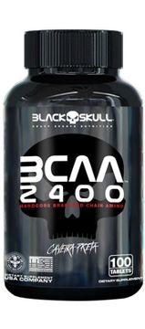 BCAA 2400 - 100 tabletes -Black Skull