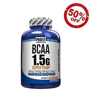 BCAA 1.5g Super Pump (120 cápsulas)