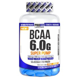 BCAA 6.0 Super Pump 120 tabletes - Profit