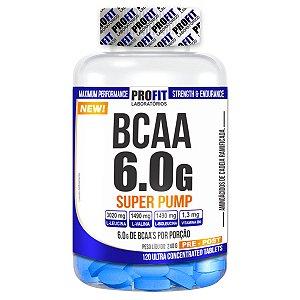 BCAA 6.0 Super Pump 120 tabletes - Profit