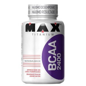 BCAA 2400 120 cápsulas Max Titanium