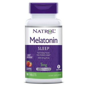 Melatonina 5mg 90 tablets Fast Dissolve - Natrol