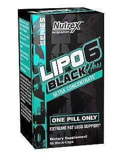 Lipo Hers Black Ultra Concentrado 60 Cápsulas