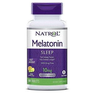 Melatonina 10mg 60 tablets Fast Dissolve - Natrol