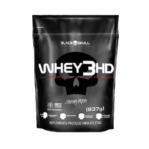Whey 3HD Refil 837g - Black Skull