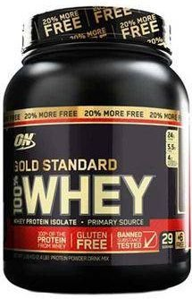 Whey Gold Standard 20% MORE FREE 1,09kg Optimum Nutrition