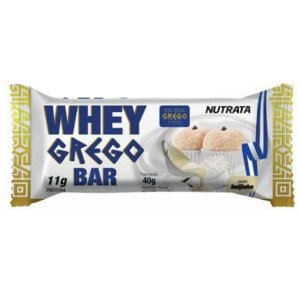 Whey Grego Bar - Unidade 40g - Nutrata