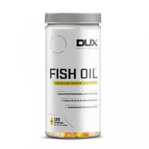 Fish Oil (120 Cápsulas) - Dux Nutrition