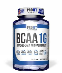 BCAA 1G 120 cápsulas Profit