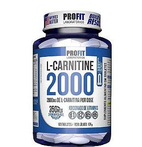 L-Carnitina 2000 120caps - Profit