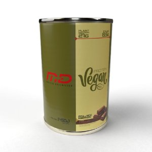 Protein Vegan MD 450g (Whey Vegano) - Muscle Definition