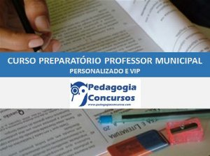 Curso Preparatório para Professor Municipal Perpétuo -  On line