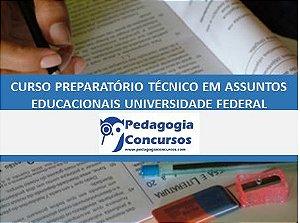 Curso Preparatório para Técnico de Assuntos Educacionais Federal Personalizado -  On line