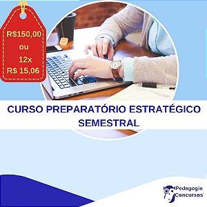 Curso Preparatório Estratégico SEMESTRAL para Professores On Line - 14ª Turma
