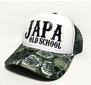 Boné oficial Japa Old Scholl