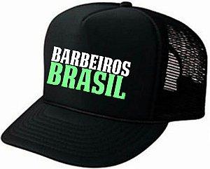 Boné Barbeiros Brasil oficial trucker